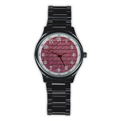 Brick Wall Brick Wall Stainless Steel Round Watch