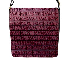 Brick Wall Brick Wall Flap Messenger Bag (l)