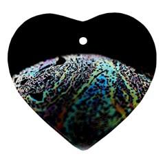Bubble Iridescent Soap Bubble Ornament (heart)