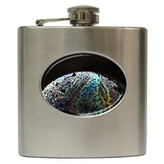 Bubble Iridescent Soap Bubble Hip Flask (6 Oz)