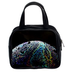 Bubble Iridescent Soap Bubble Classic Handbags (2 Sides)