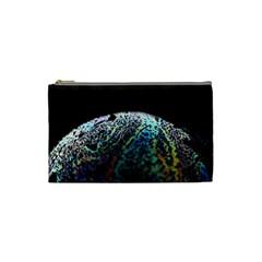 Bubble Iridescent Soap Bubble Cosmetic Bag (small)
