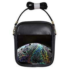Bubble Iridescent Soap Bubble Girls Sling Bags