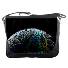 Bubble Iridescent Soap Bubble Messenger Bags