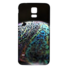 Bubble Iridescent Soap Bubble Samsung Galaxy S5 Back Case (white)