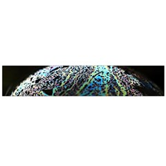 Bubble Iridescent Soap Bubble Flano Scarf (large)
