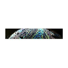 Bubble Iridescent Soap Bubble Flano Scarf (Mini)