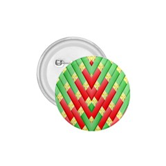 Christmas Geometric 3d Design 1 75  Buttons