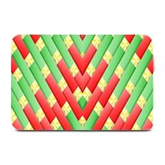 Christmas Geometric 3d Design Plate Mats