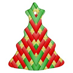 Christmas Geometric 3d Design Ornament (christmas Tree)