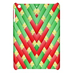 Christmas Geometric 3d Design Apple Ipad Mini Hardshell Case