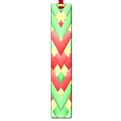 Christmas Geometric 3d Design Large Book Marks