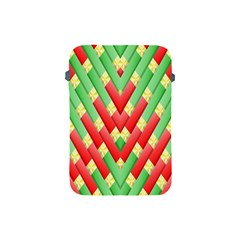 Christmas Geometric 3d Design Apple Ipad Mini Protective Soft Cases