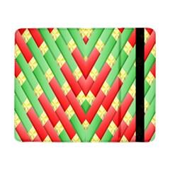 Christmas Geometric 3d Design Samsung Galaxy Tab Pro 8 4  Flip Case