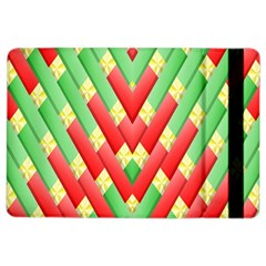Christmas Geometric 3d Design Ipad Air 2 Flip