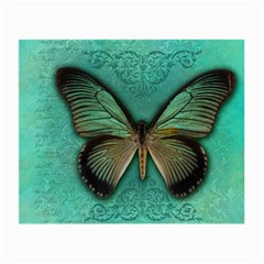 Butterfly Background Vintage Old Grunge Small Glasses Cloth