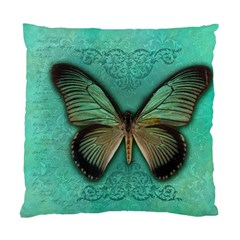 Butterfly Background Vintage Old Grunge Standard Cushion Case (one Side)
