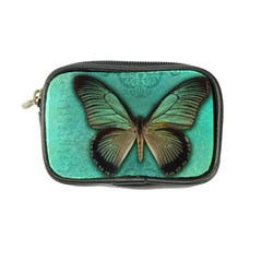 Butterfly Background Vintage Old Grunge Coin Purse