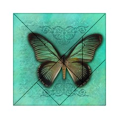 Butterfly Background Vintage Old Grunge Acrylic Tangram Puzzle (6  X 6 )