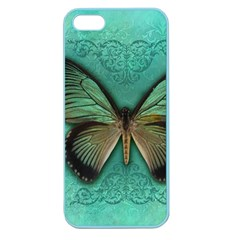 Butterfly Background Vintage Old Grunge Apple Seamless Iphone 5 Case (color)