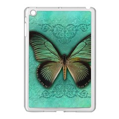 Butterfly Background Vintage Old Grunge Apple Ipad Mini Case (white)