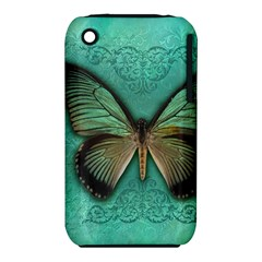 Butterfly Background Vintage Old Grunge Iphone 3s/3gs