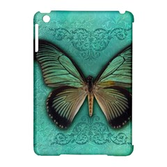 Butterfly Background Vintage Old Grunge Apple Ipad Mini Hardshell Case (compatible With Smart Cover)