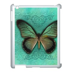 Butterfly Background Vintage Old Grunge Apple Ipad 3/4 Case (white)