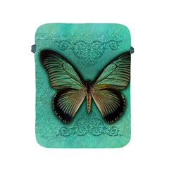 Butterfly Background Vintage Old Grunge Apple Ipad 2/3/4 Protective Soft Cases