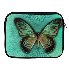 Butterfly Background Vintage Old Grunge Apple Ipad 2/3/4 Zipper Cases