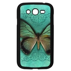 Butterfly Background Vintage Old Grunge Samsung Galaxy Grand Duos I9082 Case (black)