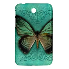 Butterfly Background Vintage Old Grunge Samsung Galaxy Tab 3 (7 ) P3200 Hardshell Case