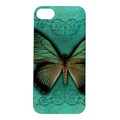 Butterfly Background Vintage Old Grunge Apple Iphone 5s/ Se Hardshell Case