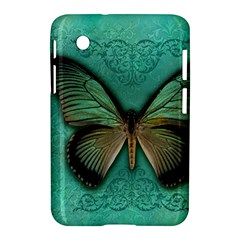 Butterfly Background Vintage Old Grunge Samsung Galaxy Tab 2 (7 ) P3100 Hardshell Case