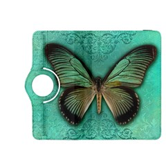 Butterfly Background Vintage Old Grunge Kindle Fire Hdx 8 9  Flip 360 Case