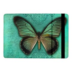 Butterfly Background Vintage Old Grunge Samsung Galaxy Tab Pro 10 1  Flip Case
