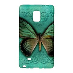 Butterfly Background Vintage Old Grunge Galaxy Note Edge