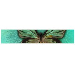 Butterfly Background Vintage Old Grunge Flano Scarf (large)