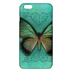 Butterfly Background Vintage Old Grunge iPhone 6 Plus/6S Plus TPU Case