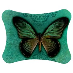 Butterfly Background Vintage Old Grunge Jigsaw Puzzle Photo Stand (Bow)