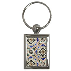 Ceramic Portugal Tiles Wall Key Chains (rectangle)