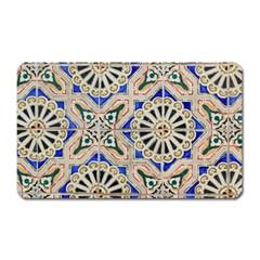 Ceramic Portugal Tiles Wall Magnet (rectangular)