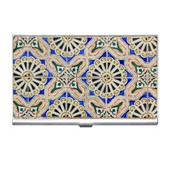 Ceramic Portugal Tiles Wall Business Card Holders