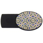 Ceramic Portugal Tiles Wall USB Flash Drive Oval (2 GB) Front