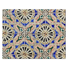 Ceramic Portugal Tiles Wall Rectangular Jigsaw Puzzl