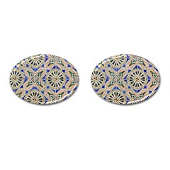 Ceramic Portugal Tiles Wall Cufflinks (oval)