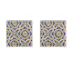 Ceramic Portugal Tiles Wall Cufflinks (square)