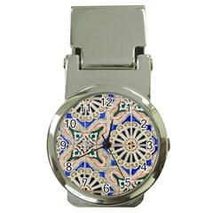 Ceramic Portugal Tiles Wall Money Clip Watches