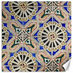 Ceramic Portugal Tiles Wall Canvas 12  X 12