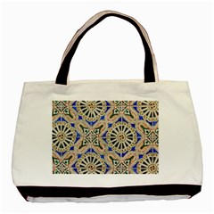Ceramic Portugal Tiles Wall Basic Tote Bag (two Sides)
